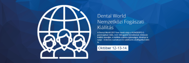 Dental World 2017. október 12-14.